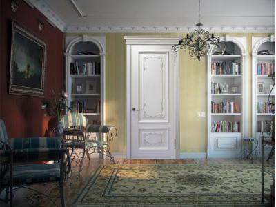 Проекты - двери с художественной росписью, прованс