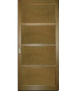 Раздвижная дверь перегородка  Сакура П ПГ4 дуб